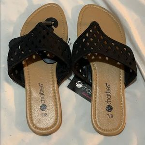 Shoes - New with tags flip flops sandals